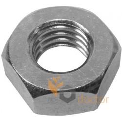 Zinc plated nut M18