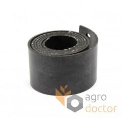 Резиновое уплотнение 600499.1 грохота комбайна Claas, 3х50х1050мм