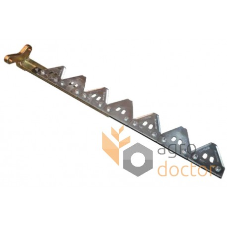 Knife assembly 06503531 Deutz-Fahr for 3600 mm header - 48.5 serrated blades