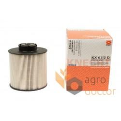 Фільтр паливний 67/2 D OEKO KX [Knecht]