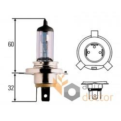 Лампа 12V 60/55W H4-P43T [Hella]
