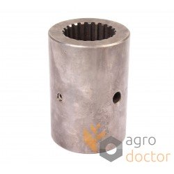 Splined coupling 22S 84077841 New Holland