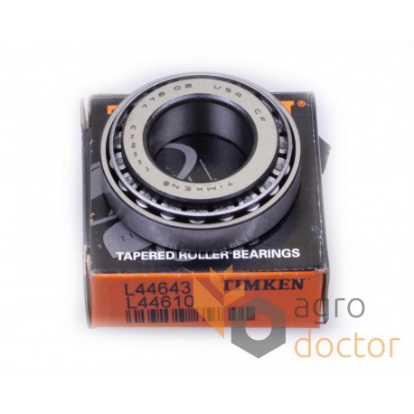 L44643/L44610 [Timken] Конічний роликовий підшипник
