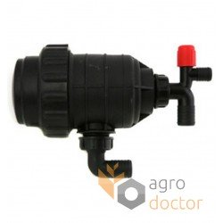 Suction filter without shutoff valve [Agroplast]