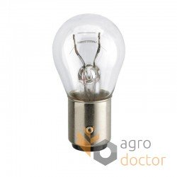 Лампа 12VP21/5W-Bay15D [Hella]