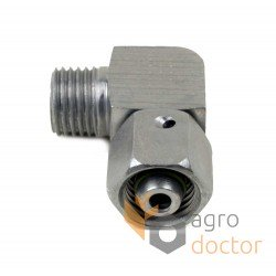 Angular hydraulic connection 238788.0 for Claas combine hydraulic system - 36mm [Original]