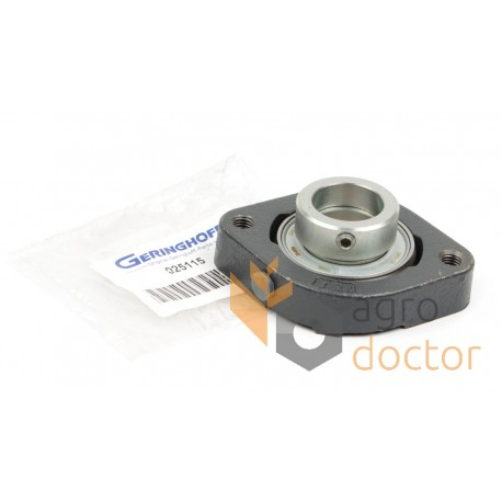 Flange bearing with housing 30mm [Geringhoff]