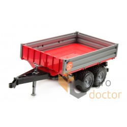 Toy-model of tipper trailer