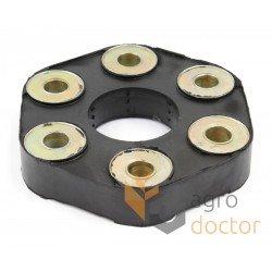 Гумова муфта 624545 трансмісії комбайна Claas - 60х160мм [TR]