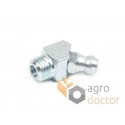 Metric grease fitting M8x1 (45° angle)
