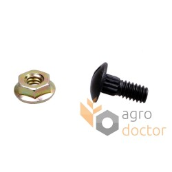 Bolt with nut M6x16 - 626407 Claas