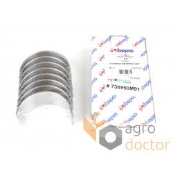 Conrod bearing set engine 30/3-3 - 85042 Perkins [Bepco]