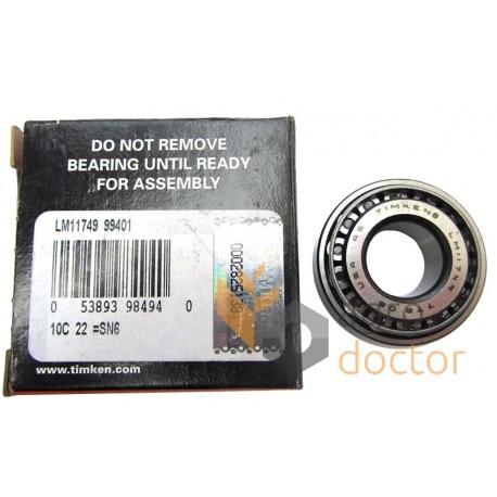 timken tapered roller bearings. lm11749/lm11710 [timken] tapered roller bearing timken bearings