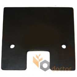 107x120 Rubber paddle for grain Elevator roller chain