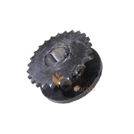 Wheel double hub 000822496.1 for balers Claas
