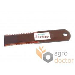 Нож измельчителя фиксиров. 060030 Claas