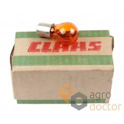 Лампа 216609.0 комбайна CLAAS - PY21W/12V-BAU15 [Original]