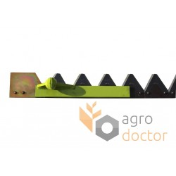 Knife assembly 610646 Claas for 3600 mm header - 48.5 serrated blades