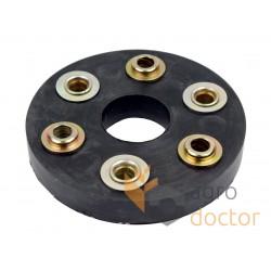 Гумова муфта 608014.0 трансмісії комбайна Claas - 40х130мм