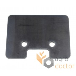 Backing plate 642658 of paddle chain conveyor 90x120