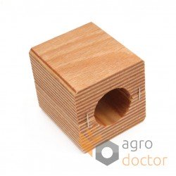 Wooden bearing 600048.0 - 60x65x61mm