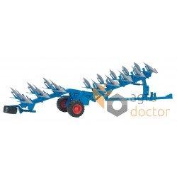 Іграшка - трактор Lemken Vari-Titan з плугом