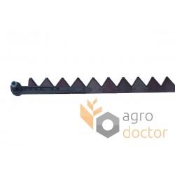 Knife assembly AZ10806 John Deere for 3000 mm header - 41.5 serrated blades