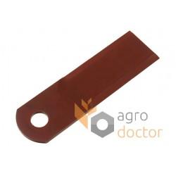 Подвіжный нож измельчителя комбайна - 4мм