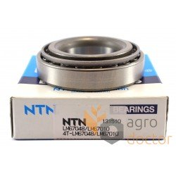 LM67048/10 [NTN] Конический роликоподшипник