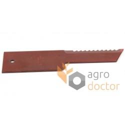 Нож измельчителя фиксиров. Z59033 John Deere