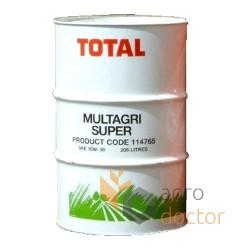 Олива Total Multagri Super 10W30, 208 л