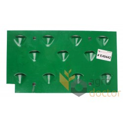 Right restrictor (grater)