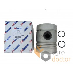 Piston with pin for engine - 738871M91 Massey Ferguson [Bepco]