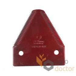 Сегмент ножа жатки 611203 комбайна Claas