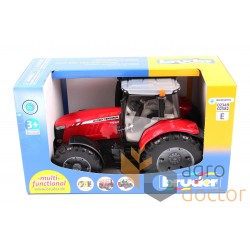 Toy-model of tractor Massey Ferguson 7600