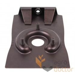 Shaft tensioner for combines Claas