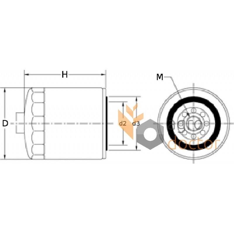 fuel filter ff5135  fleetguard