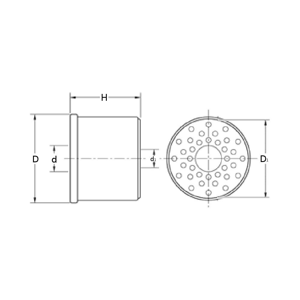 fuel filter  insert  df 699  m-filter