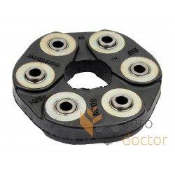Гумова муфта 608014.0 трансмісії комбайна Claas - 40х130мм, (зміцнена)