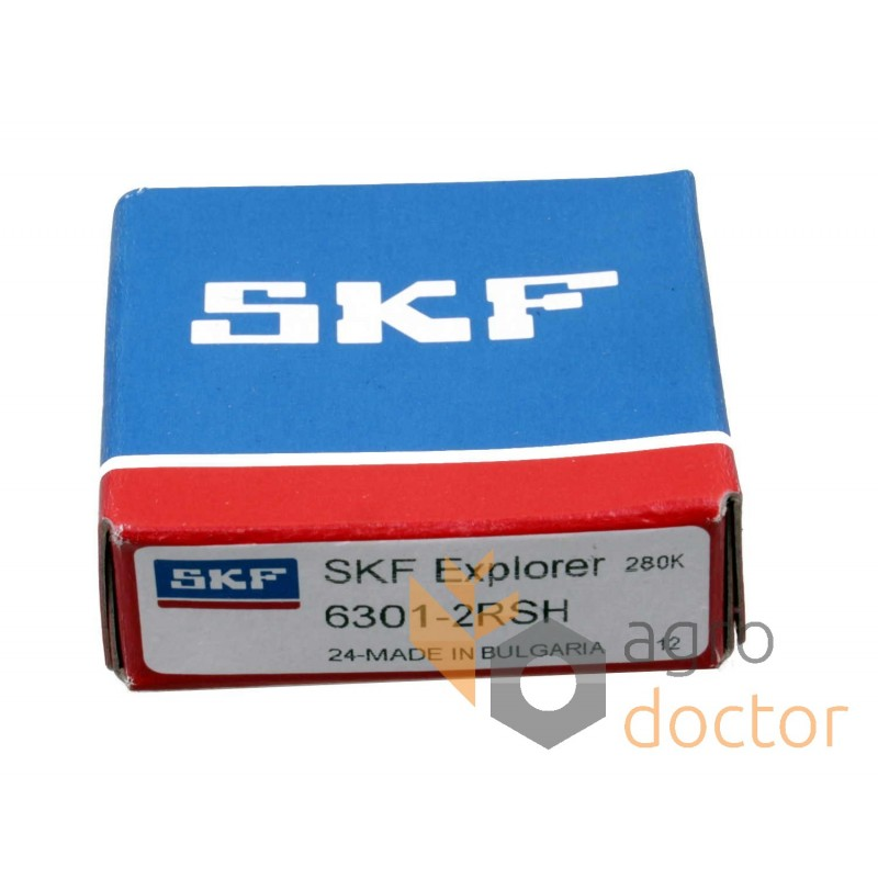 6301-2RSH SKF deep groove Ball portant