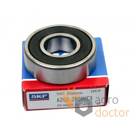 6203-2RSHC3 [SKF] Deep groove ball bearing