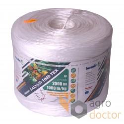Agro-twine polypropylene PP1000 (2кг 2000м)