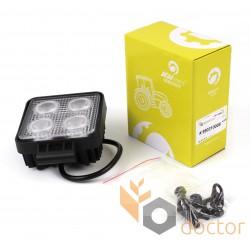 Фара додаткова LED 20 W (4x5W CREE), 2800 Lm, квадратна