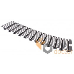 Передня решітка 735418 клавіші соломотряса комбайна Claas