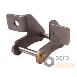 Roller chain attachment link F4 (41,4mm pitch), S45