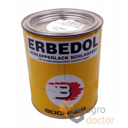 Red paint for Claas combines 750 ml [Erbedol]