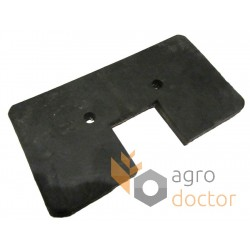 76x147 Rubber paddle for grain Elevator roller chain