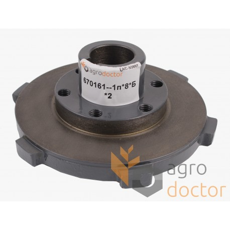 Hub of clutch disc 000643531 for combines Claas