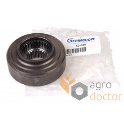 Coupling spline for corn header 501510 Geringhoff