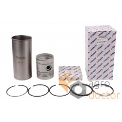 Piston set U5MK0038 Perkins engine, 5 rings, [Bepco]